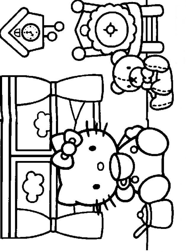 Färgläggning Av Teckningar Målarbok För Barn Barnbilder